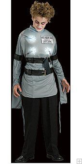 Mental Patient Shock Therapy Fiber Optic Boys Halloween Costume