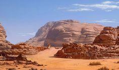 Desert concept art.