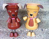 """10"""" planteur Pot personne (s) chien chiot très mignon livraison gratuite"""