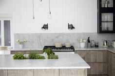 Industrial Chic - Transitional - Kitchen - london - by Blakes London Decor, Home Kitchens, Contemporary Kitchen, Kitchen Design, Beautiful Kitchen Designs, Kitchen Marble, Kitchen Cabinetry, Kitchen Interior, Dream Kitchen