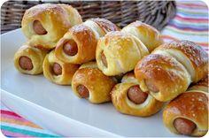 pretzel Dogs - Lemon Sugar