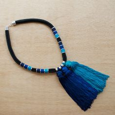 DIY Ombre Tassel Necklace (choose from two colours)