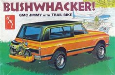 1970 GMC Jimmy 'Bushwacker' with Trail Bike (1/25)