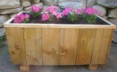 Fabriquer un bac à fleurs en bois de récup !