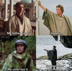The poncho is strong in my family
