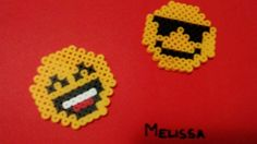 Emoj in pyssla- hand made