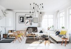This beautiful scandinavian apartment visualization was designed by Image Box Studios.