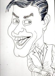 CARICATURAS DELBOY: JERRY LEWIS
