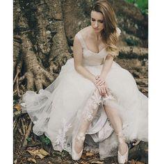 Nossa noiva bailarina Renata Floret! <3 Wedding Dress Atelier Carla Gaspar.