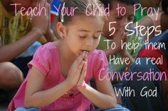 praying kids