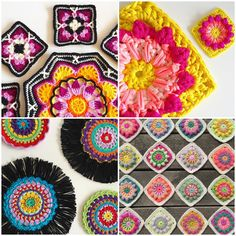 Crocheters who instagram or the other way round:) Spreading crochet inspiration love!