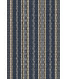 RugStudio presents Dash and Albert Otis Navy Flat-Woven Area Rug
