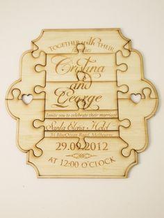21 of the MostCreative Wedding Invitations Ever via Brit + Co.