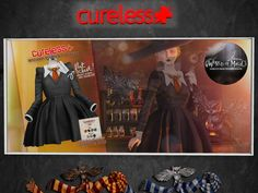 CURELESS - dress, 249LItem 14 of 93  Wizard Student Outfit includes HUD, mesh body compatible, 249L.    No Muggles Allowed at the World of Magic! | Seraphim.