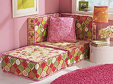 sew a couch, one day, would be cute under the beds we want to build for the girls room, and could provide extra sleeping space.