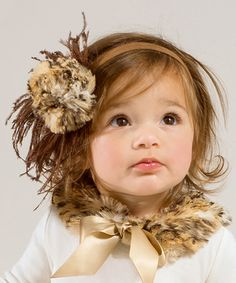 Look at this Truffles Ruffles Brown Leopard Feather Headband on today! Toddler Girl Outfits, Kids Outfits, Baby Kids Wear, Baby Girls, Glam Girl, Girly Girl, Cute Headbands, Feather Headband, Brown Leopard