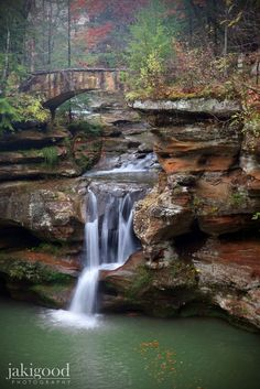 Upper Falls, Old Man's Cave, Ohio