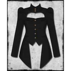 goth tailored jacket - Google Search