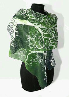 LotR scarf on Etsy