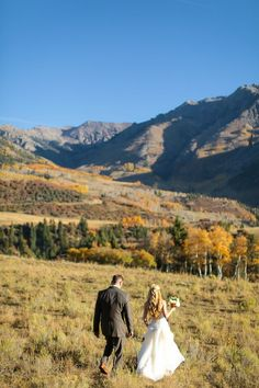 Fall elopement in Te