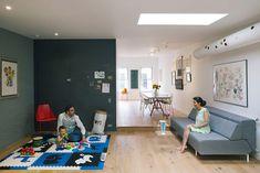 Reforma dá um ar contemporâneo a antigo apartamento - limaonagua