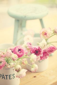 zomer bloemen #vintage #brocante