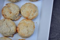Buttermilk Biscuits – make these fresh anytime.  These are easy to make, and you can't beat fresh bread baking in the oven.