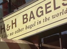 2003 Trip: Everything H&H BAGELS