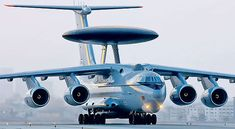 Beriev A-50 Mainstay is an AWACS aircraft which also as the ability to use electronic warfare.