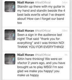 """one direction doesn't care about their fans at all"" yeah...right...they love us almost as much as we love them<3"