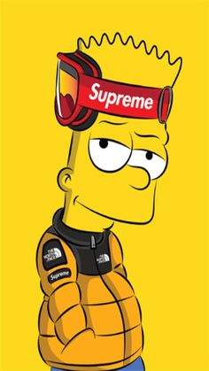 Simpson supreme Wallpaper by - - Free on ZEDGE™ now. Browse millions of popular yellow Wallpapers and Ringtones on Zedge and personalize your phone to suit you. Browse our content now and free your phone Gucci Wallpaper Iphone, Hypebeast Iphone Wallpaper, Simpson Wallpaper Iphone, Cartoon Wallpaper Iphone, Iphone Cartoon, Graffiti Wallpaper, Nike Wallpaper, Boys Wallpaper, Simpsons Drawings
