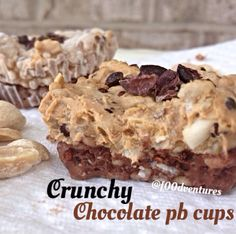 Crunchy (quinoa) chocolate pb cups