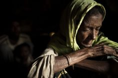 The plight and despair of people from the unregistered Rohingya refugee camp in Bangladesh. Image by Jared Katz. Copyright Demotix (09/07/2009).