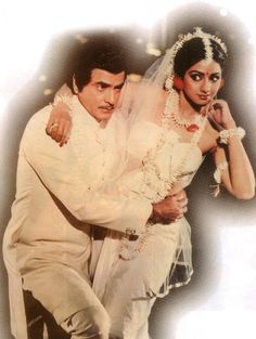 #Jeetendra and #Sridevi