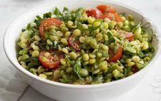 Pea Salad Recipes, Pea Recipes, Lentil Recipes, Vegetable Recipes, Whole Food Recipes, Cooking Recipes, Healthy Recipes, Split Pea Recipe Vegan, Yellow Split Pea Recipe
