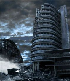matte painting - making the chaos