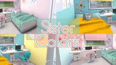 Sister Colors Bedroom