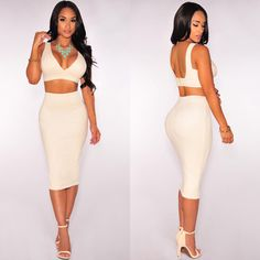 """""""Two is always better than one. Available at HotMiamiStyles.com - Search: SS306"""""""
