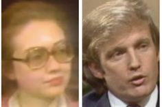 You will barely recognize young Hillary Clinton and Donald Trump in these old interviews https://www.washingtonpost.com/news/arts-and-entertainment/wp/2016/05/09/young-donald-trump-hillary-clinton-interviews/