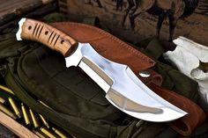 CFK USA Ipak Survival Custom Handmade D2 Longhorn Tracker Bushcraft EDC Knife 16 | eBay