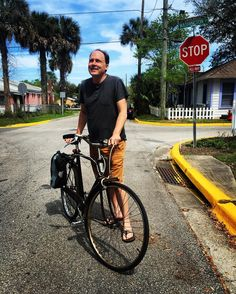Get out and ride your bikes to Rythm and Ribs at St. Francis Field! It's a beautiful day  You can catch @acmcstudio riding around town on his beautiful Dutch bicycle. #staugustinebuzz #staugustinelife #bikestaugustine #instabikeride #springbreak2016 #rythmandribs #904happyhour #flaglercollege by bikestaugustine