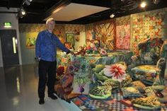 Kaffe Fassett a Life in Colour - 50 years of textile art at the Fashion & Textile Museum, London 2013