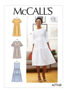 M7948 | Misses' Dresses | McCall's Patterns