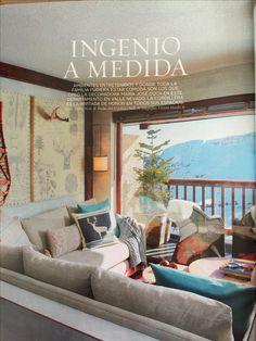 Decoración refugio en la nieve ❄️ Valance Curtains, Chile, Ski, Living Rooms, Home Decor, Houses, Environment, Mountain Cabins, Shelters