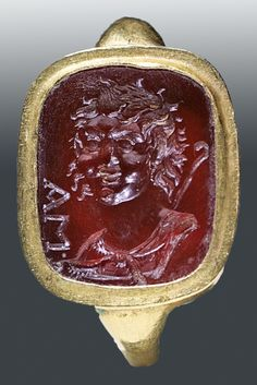 A Finger Ring with an Intaglio  Roman, late 1st cent. B.C.-early 1st cent. A.D.