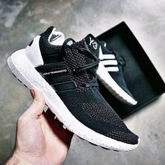 The Y-3 Pure Boost ZG Knit.  Available in retail and on Y-3.com.  #adidas #Y3 #PureBoostZG Image by @onine_shop