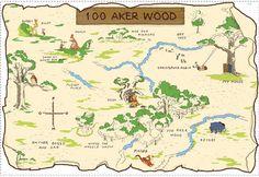 Interior Place - Winnie The Pooh Disney 100 Aker Wood Map Applique, $25.99 (http://www.interiorplace.com/winnie-the-pooh-disney-100-aker-wood-map-applique/)