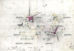 Bleached Out: De-Commissioning Domesticity: relational drawing v.01