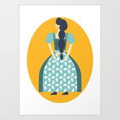 Gretel Art Print by Alice Rebecca Potter - $20.00