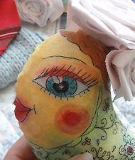 1 St Fisch,Rosa,Romantic, Vintage,Tilda-Art, Shabby Stil,Prinzessin,Rosen.